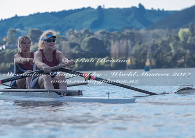 Taken during the World Masters Games - Rowing, Lake Karapiro, Cambridge, New Zealand; ©  Rob Bristow; Frame 529 - Taken on: T...