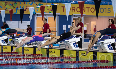 200m Freestyle Women, Ontario Junior International, Day 1 Preliminaries, December 15, 2017