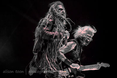 John 5 with Rob Zombie at Aftershock 2014, Sacramento