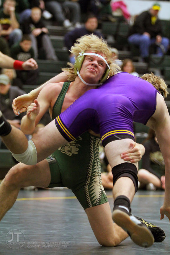 Wrestling - 2/8/12 Iowa City West High vs Indianola High