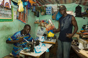 Tailor shop, Ziguinchor, Casamance, Senegal