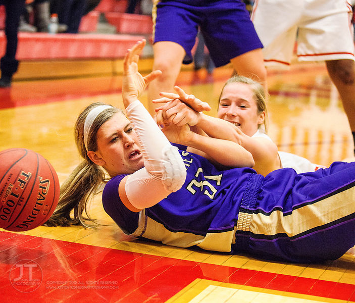 P-C Girls Prep Basketball Iowa City High vs Muscatine, January 3, 2015