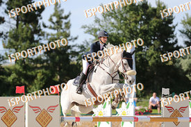SALKOVA Tina (CZE) and FRASCATI VAN TER HULST during LAKE ARENA - The Equestrian Springbreak, CSI1*, Big Tour, 140 cm, 2017 J...