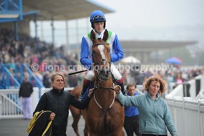 2.20pm 30th Sept 2013 National Hunt Novices Hurdle with winner Oscar Magic