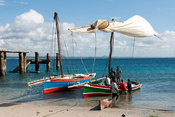 Fishing dhows, Fernao Veloso, Nacala, Mozambique