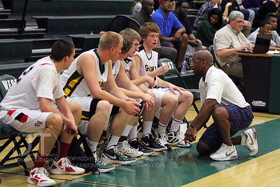 Northern Coach Carlos Nelson directs his bench players during the first half of play. The Northern All-Star team defeated the...