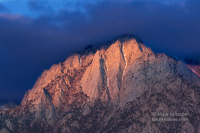 Sunrise from Alabama Hills, Owens Valley