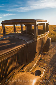 Rusty Car at Route 66 Memorial in Petrified Forest National Park
