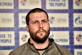 Stojanche STOILOV of VARDAR during the Final Tournament - Final Four - SEHA - Gazprom league, press conference, Croatia, 31.0...