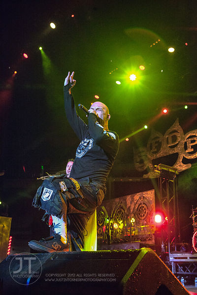 Hoopla - Five Finger Death Punch, US Cellular Center, Sept 20, 2014