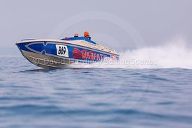 Warpath, B69, Fortitudo Poole Bay 100 Offshore Powerboat Race, June 2018, 20180610262