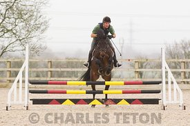 West Wilts Arena Eventing, outside, Sunday 21st February 2016.