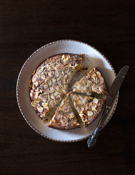 Ricotta and Almond Polenta Cake
