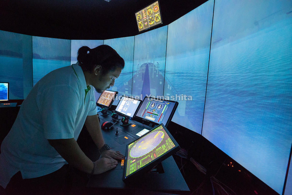 Simulation-based training exposes maritime officers to a series of realistic sea navigation scenarios in a risk-free environm...