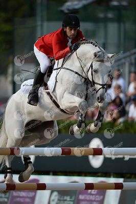 Abdel SAID ,(EGY), VINGINO during Longines Cup of the City of Barcelona competition at CSIO5* Barcelona at Real Club de Polo,...
