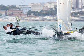 18ft Skiff European Grand Prix, Sandbanks, 20160904139