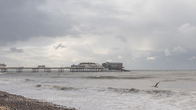 Overcast day in Cromer, Norfolk