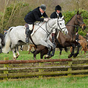 The Quorn Hunt at Markham House 24/1