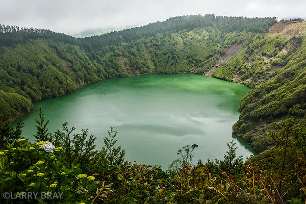 Lake Santiago, Sao Miguel, The Azores
