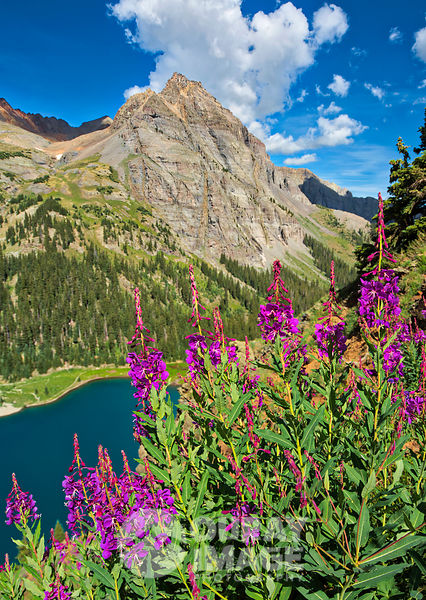 Sneffels Mountain Range, Blue Lakes
