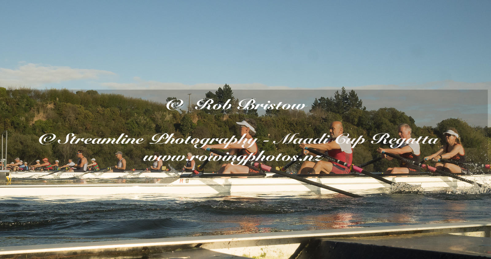 Taken during the World Masters Games - Rowing, Lake Karapiro, Cambridge, New Zealand; ©  Rob Bristow; Frame 1295 - Taken on: ...
