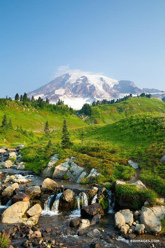 MOUNT RAINIER NATIONAL PARK WASHINGTON STATE