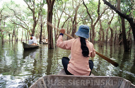 Cambodge, lac Tonle Sap