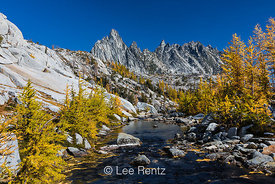 Snow Creek, Prusik Peak, and Alpine Larches in The Enchantments