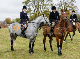 Helen Lovegrove, George Henderson at Belvoir Hunt Opening Meet 2018