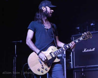 Robert Zakaryan, guitar, Adelitas Way