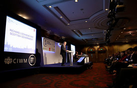 Hilton Hotel, Glasgow.28.10.14.Scottish Resources conference 2014.Free Use for CIWM and partners..Picture Copyright:.Iain McL...