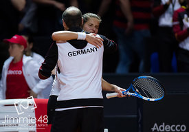 Fed Cup 2018 Germany vs. Czech Republic Republic - 22 Apr