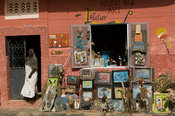 Art shop, Saint-Louis, Senegal