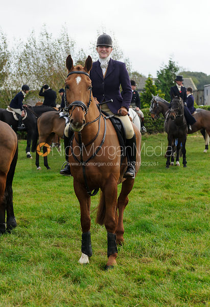 Fiona Davidson - Quorn at Barrowcliffe 1-11-13
