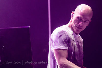 Mark Kelly, keyboards, Marillion, Anoraknophobia evening, PZ, 2015