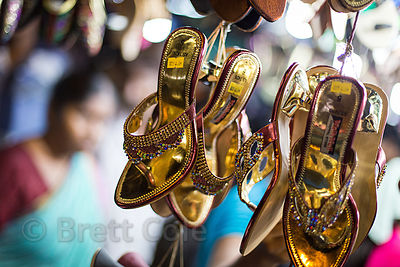 Gold sandals for sale, Newmarket, Kolkata, India
