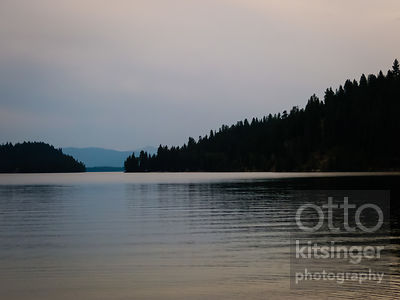 payette lake from north beach