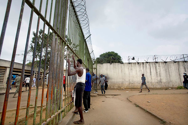 Ivory Coast. Prison and Correction Center in Abidjan (MACA) .