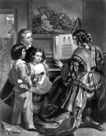 19th-century family sings Star-Spangled Banner