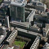 Office buildings by Moorgate