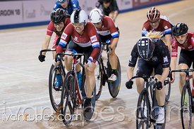 Cat 2 Women Scratch Race, 2017/2018 Track Ontario Cup #2, Mattamy National Cycling Centre, Milton On, January 14, 2018