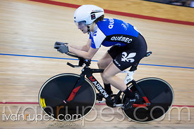 Junior Women Individual Pursuit Final. 2016/2017 Track O-Cup #3/Eastern Track Challenge, Mattamy National Cycling Centre, Mil...