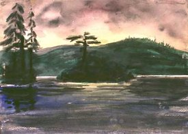 Trees And Island
