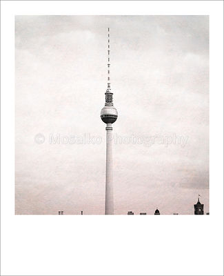 Berlin Polaroid - TV Tower