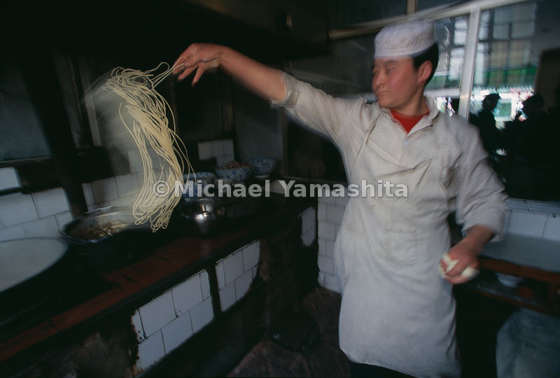 Noodles, especially those that are hand-pulled, are popular all over China, leaving one to wonder if it was Marco Polo and hi...