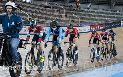 Junior Men Keirin 1-6 Final, 2017/2018 Track Ontario Cup #1, Mattamy National Cycling Centre, Milton On, December 10, 2017