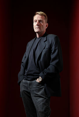 Stirling, Scotland.15.9.13.Pic Shows: Lee Child at the Albert Halls...Crime fiction fans are under no suspicions as they gath...