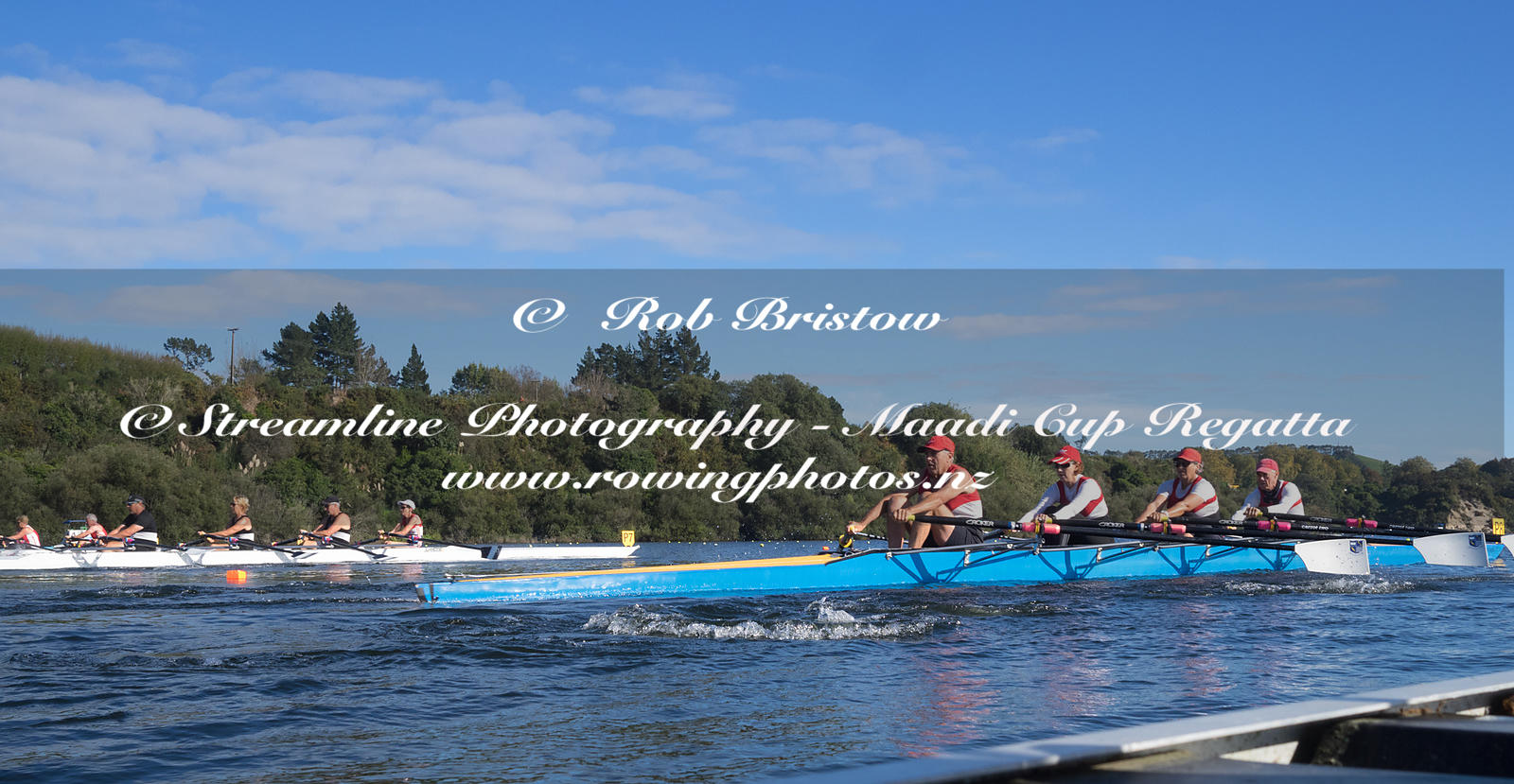 Taken during the World Masters Games - Rowing, Lake Karapiro, Cambridge, New Zealand; ©  Rob Bristow; Frame 1338 - Taken on: ...