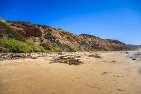 Crystal Cove Cliffs in Laguna Beach California
