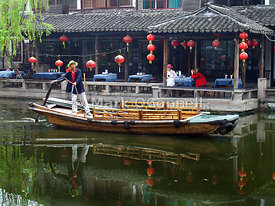 Zhouzhuong water village China ..